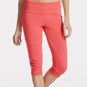 Fabletics Hamilton Fold-over Sweatpants (Pink)